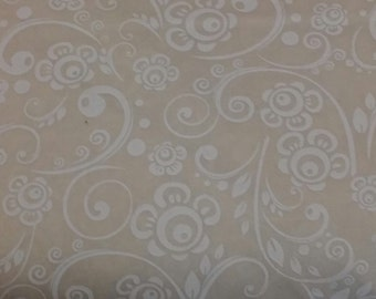 """346-48496 WHITE/TINT WIDE Quilt Backing - 108"""" Wide Backing From Classic Cottons """"Get Back!"""" Collection, Quilt Shop Backing"""