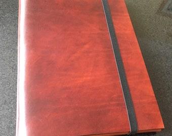 Leather A4 portfolio