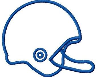 football helmet embroidery design, football helmet applique design, football design, fall football