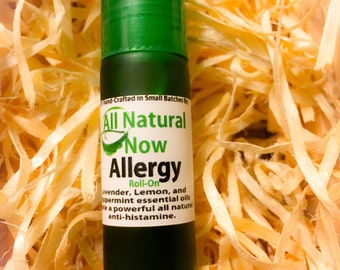 Allergy Essential Oil Blend/100% Pure & Therapeutic Grade/Roll-On/15mL/Seasonal/Anti-Histamine/Sneezing/Allergens