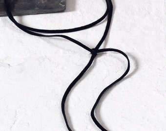 Wrap Around Leather Necklaces