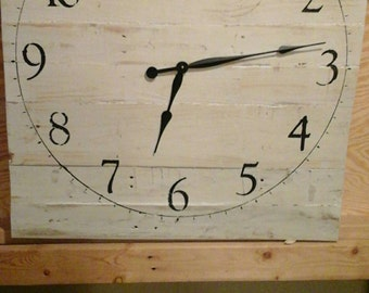 Square 30x30 large wall clock