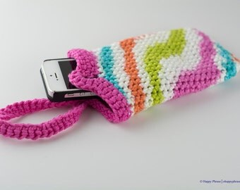 Hand-crochet Wristlet