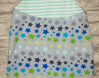 "Onesie ""Colorful Blue Star"""