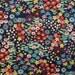 Darling Starling Linen | Floral Fabric | Alexander Henry | Navy | Dark Blue