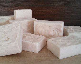 Sea Salt & Lavender Soap - Organic Soap - Natural Soap- Cold Process Soap - Handmade Soap
