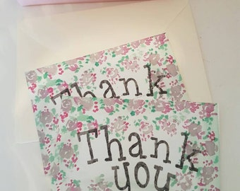 Alice in wonderland theme Thank you post cards