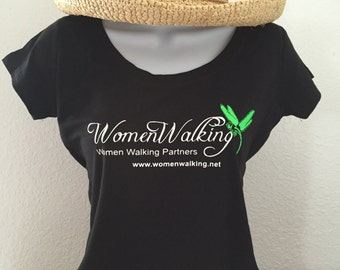 WomenWalking soft tee