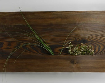 Rectangle wall vase