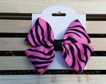 4- Inch Double Hairbow