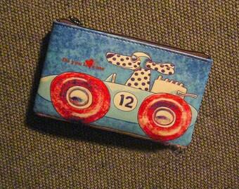 Vintage Art Painting Leather Wallet Card Holder Coin Purse Handbag Gift for her