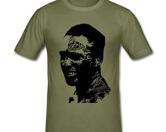 Men shirt Maori Tattoo