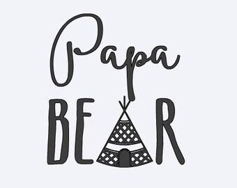 Free Shipping! Papa Bear