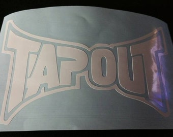 Tap Out Decal