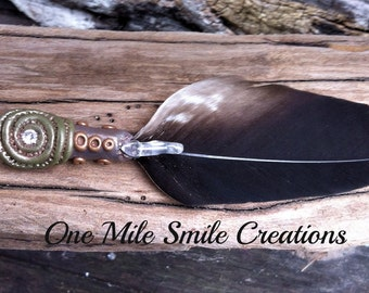 Small Eagle Feather Smudge Wand