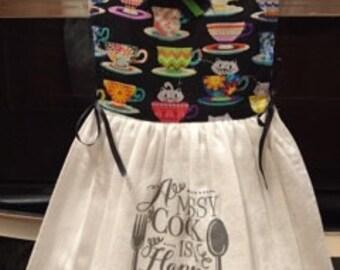 Oven Door Dress- A Messy Cook Is A Happy Cook!