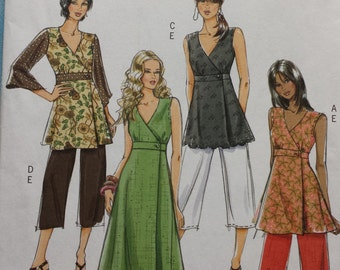 Butterick 5046 Top, Dress and Trouser Sewing Pattern 16-22