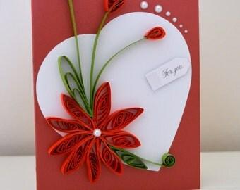 Handmade Birthday card! Love Card