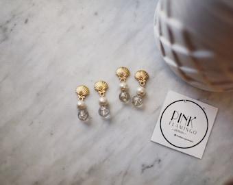 Summer SeaShell Pearls