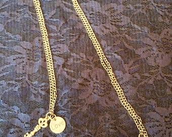 Key Love Necklace