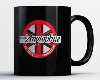 I Love UK Coffee Mug - It's an Anglophile Thing Mug