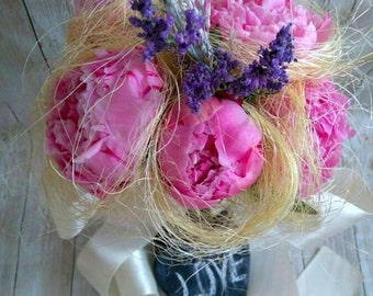 Sweet peonies Bridal Bouquet