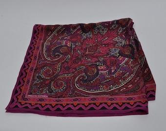 Vintage square Adrienne Vittadini scarf