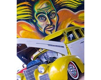 Chicano Park Lowrider & Mural gold