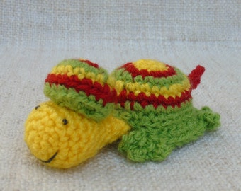 Turtle crochet Beretus one who takes his time