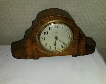 Clock. Art Deco clockwork. Working.