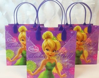 Tinkerbell Small Treat Bag 12 ct