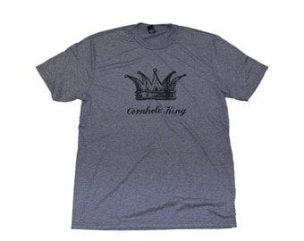 Cornhole King Tshirt