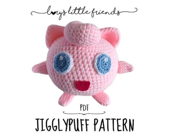 Amigurumi Orca Pattern Free : Crochet Pattern Jigglypuff Pokemon Amigurumi PDF