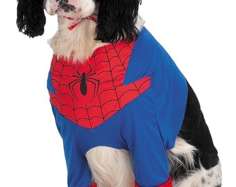 SPIDERMAN Dog Costume Pet Costumes Dog Accessories Pet Accessories Dog Clothing Halloween Party Supplies - Free US Shipping!