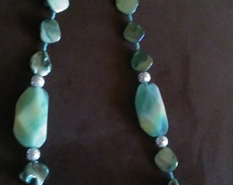 Chunky beads and shells