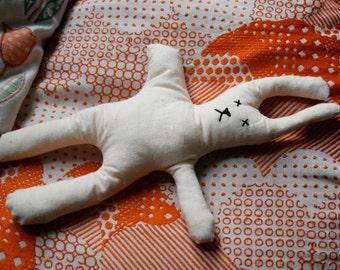 Handmade Dazed Rabbit Softie