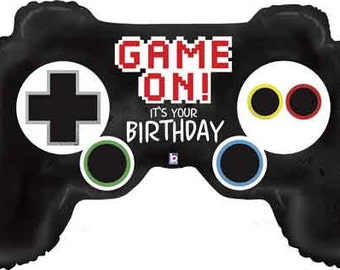"Gamer Balloon-36"" Balloon- Game Controller Balloon"