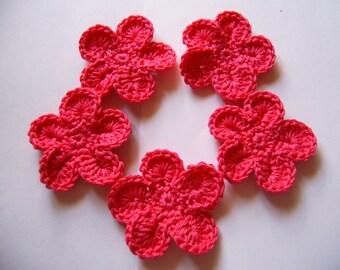 Crochet flowers / set 1
