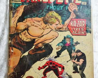 Daredevil No.12, January 1966, Silver Age, Marvel Comics Group,  Vintage Books, Vintage Comic Books, Birthday Gift, Unique Gifts