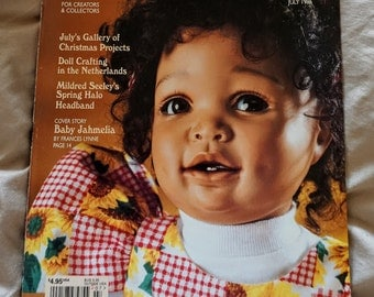 Vintage Doll Crafter Magazine,  Clothing Pattern,  Doll Clothes Pattern,  1996 Doll Crafter Magazine,  Back Issue