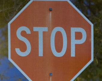 Awesome stop sign