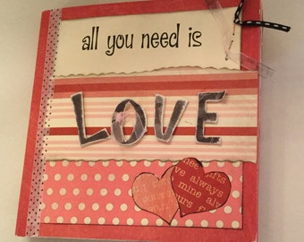 All You Need Is Love Mini Book