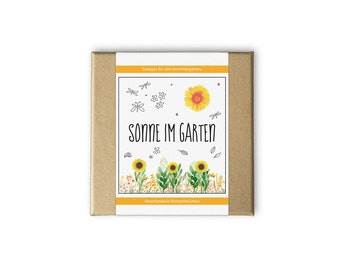 Sun box - even as a personal gift idea - seeds and seeds for the garden in the garden