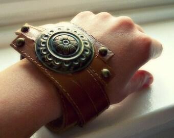 Belt Bracelet - Upcycled/Found Object Jewelry