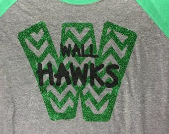 Chevron Wall Hawks