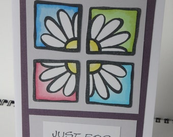 Set of 3 Daisy Cards