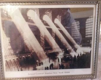 Wonderful print of Grand Central Station New York