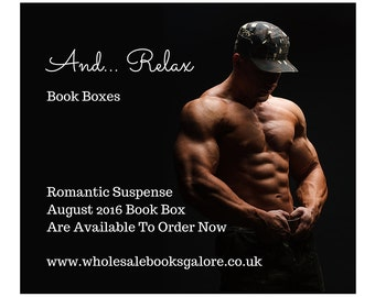 And... Relax, Book Boxes - Romantic Suspense - August 2016 -