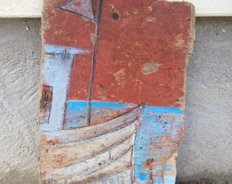drift wood trawler