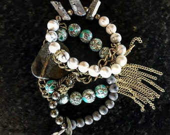 Hummingbird bracelet set